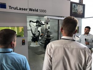 TRUMPF Smart Factory Tour at Smart Industry Conference